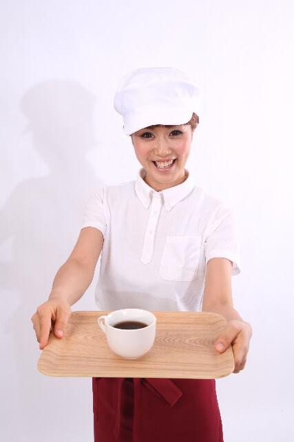 コーヒーショップ店員
